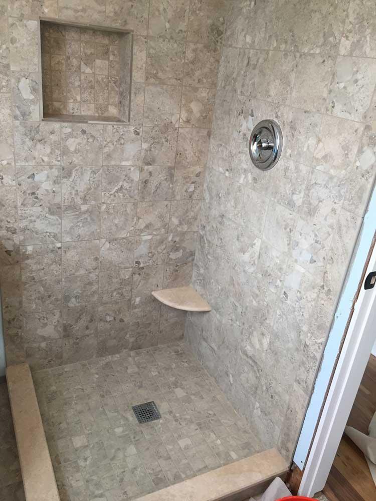 Custom Shower Pan Base
